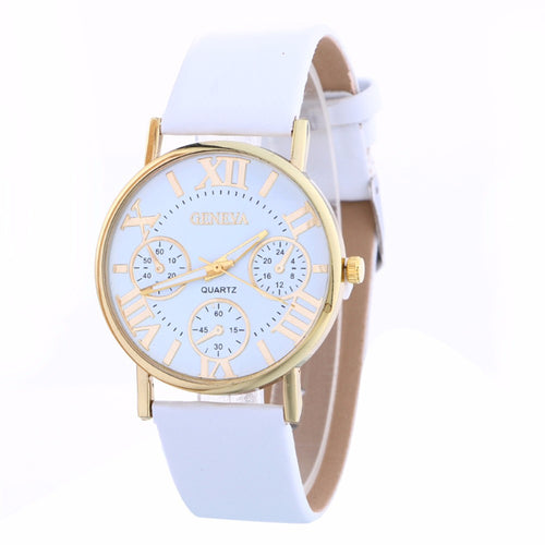 2017 New Design Quartz Women Watch Casual Fashion Ladies WristWatch For Women Vintage Watches vrouwen horloges montre femme #825