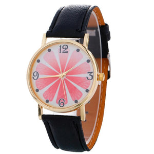 Women's watches 2017 New Fashion Faux leather quartz women watches women ladies dress watches Clock Female vrouwen horloge #825