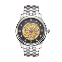 Load image into Gallery viewer, SUNBLON S510 Men's Stainless Steel Mechanical Hollow out all Watch Movement