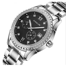 Load image into Gallery viewer, SUNBLON Two-Way Timing Movement  Stainless Men's Automatic Mechanical Watch