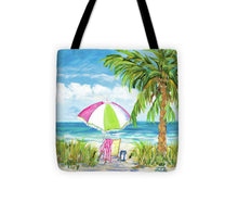 Load image into Gallery viewer, Vacation Getaway Tote Bag