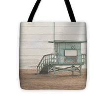 Load image into Gallery viewer, Life Guard White Wash Tote Bag