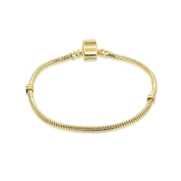 The Original Plain Gold Plated Bracelet