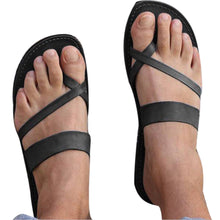 Load image into Gallery viewer, Summer Women Casual Sandals Ankle Flat Strappy Gladiator Low Flip Flops Shoes