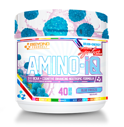 Train the Brain for the Muscles to gain with Amino IQ!