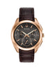 97A124 Men's Curv Chronograph Watch
