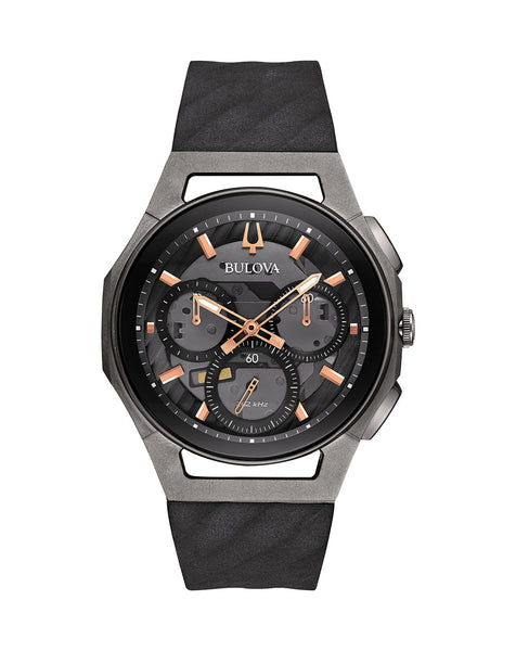 98A162 Men's Curv Chronograph Watch