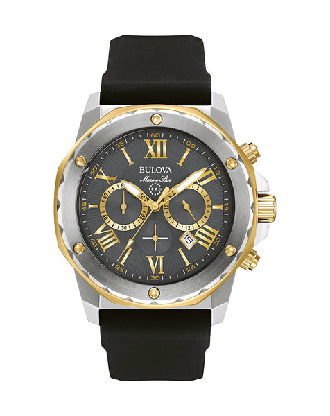 98B277 Men's Marine Star Chronograph Watch