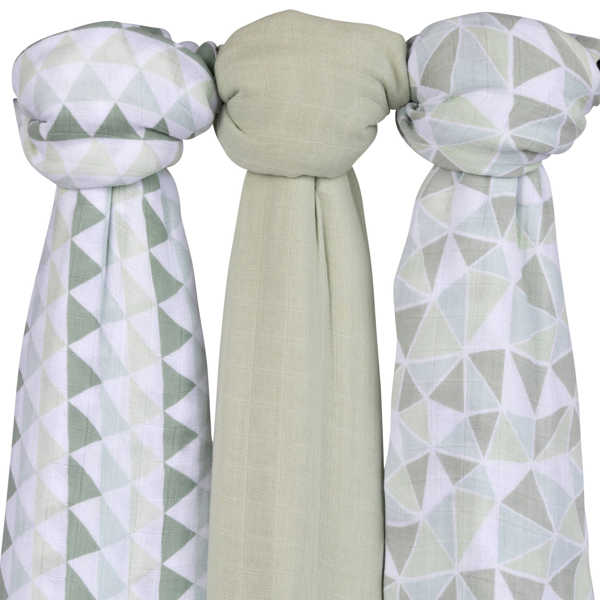 Muslin Bamboo Swaddles (color variations)