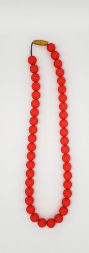 Adult red necklace