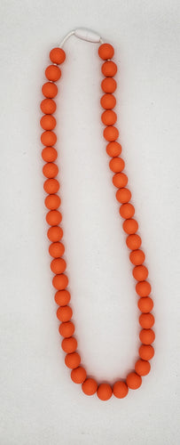 Adult apricot necklace