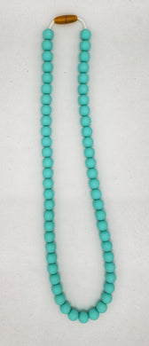 Adult Robin's egg blue necklace