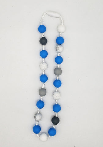 Children's blue necklace