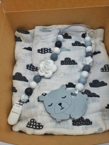 Sleepy bear gift set