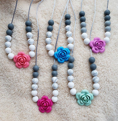 Adult Rose Necklace