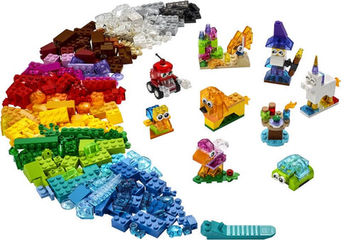 LEGO Classic Creative Transparent Bricks (11013)
