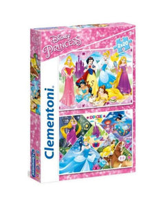 CLEMENTONI ΠΑΖΛ 2X20 SUPER COLOR PRINCESS (1200-24751)