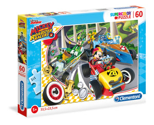 CLEMENTONI ΠΑΖΛ 60 Supercolor MICKEY ROADSTER RACERS (1200-26976)