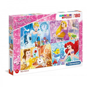 CLEMENTONI ΠΑΖΛ 180 SUPERCOLOR DISNEY PRINCESS (1210-29294)