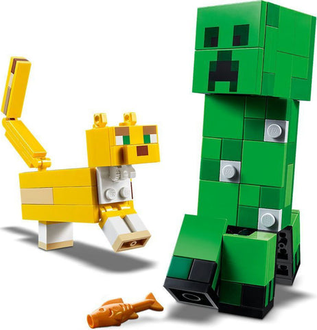 LEGO Minecraft™ BigFig Creeper™ and Ocelot (21156)