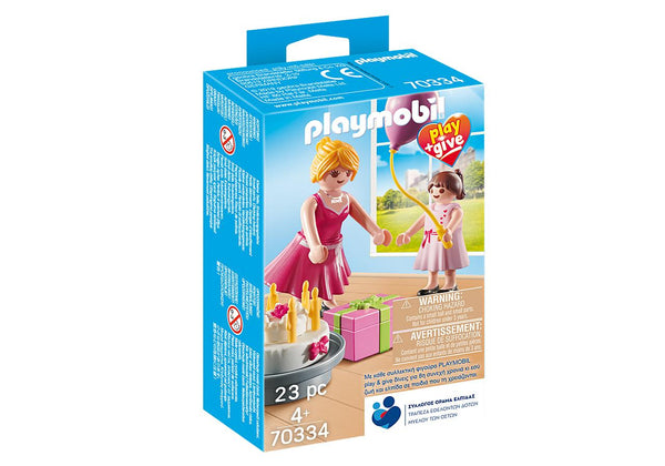 Playmobil Play & Give Νονά (70334)