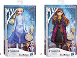 Disney Frozen II Κούκλα Light Up Fashion Anna (E7001)