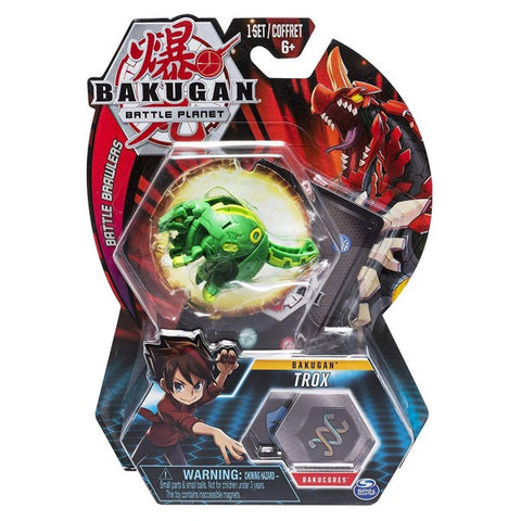 Bakugan Battle Planet: Battle Brawlers - Trox Ball Pack (20103979)