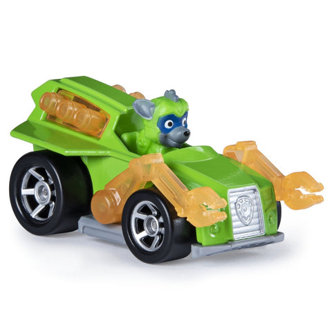 Paw Patrol Μεταλλικά Οχήματα Mighty Pups Super Paws Rocky True Metal Vehicle (20133187)