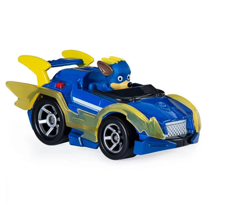 Paw Patrol Μεταλλικά Οχήματα Mighty Pups Super Paws Chase True Metal Vehicle (20133185)