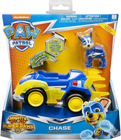 Paw Patrol Mighty Pups Super Paws - Chase Deluxe Vehicle (20115475)
