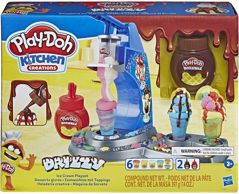 Play-Doh Kitchen Creations Drizzy Ice Cream Playset (E6688)