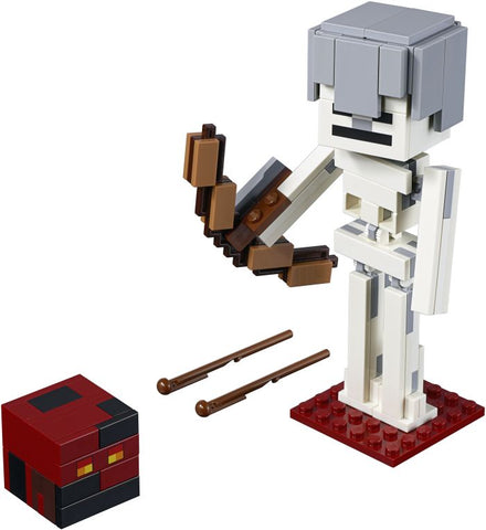 LEGO Minecraft™ Skeleton BigFig with Magma Cube (21150)