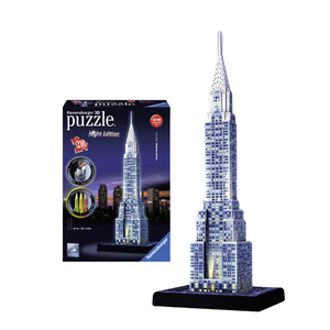 3D Puzzle Chrysler Building Night Edition 216 τεμ. (12595)