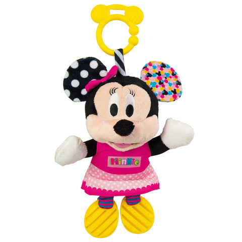 Clementoni Baby Disney Κουδουνίστρα-Χνουδωτό Minnie (1000-17164)