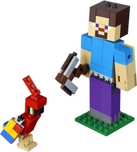 LEGO Minecraft™ Steve BigFig with Parrot (21148)
