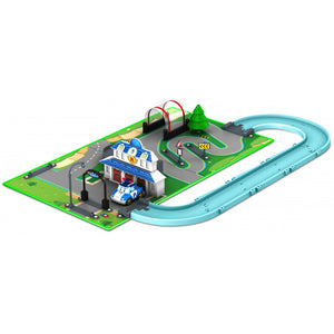 Robocar Poli Brooms Town Map - Αρχηγείο (1003-83280)