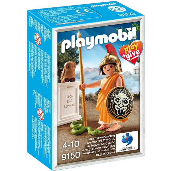 Playmobil History Αθηνά Play&Give (9150)