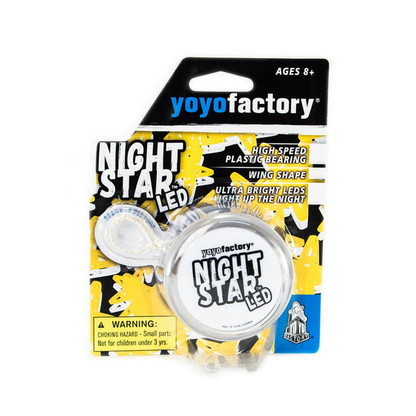 YoYo Factory YOYO NIGHTSTAR LED clear/white (YO-247)