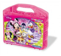 Clementoni 12 Κύβοι Disney- Minnie Mouse Club House (1100-41171)