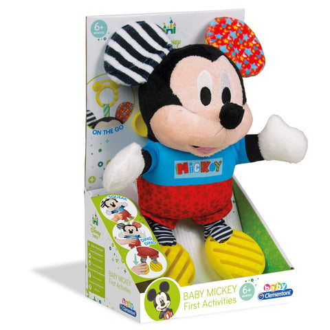Clementoni Baby Disney Κουδουνίστρα-Χνουδωτό Mickey (1000-17165)