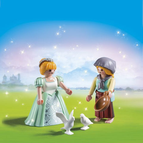 Playmobil Duo Pack Πριγκίπισσα & Υπηρέτρια (6843)