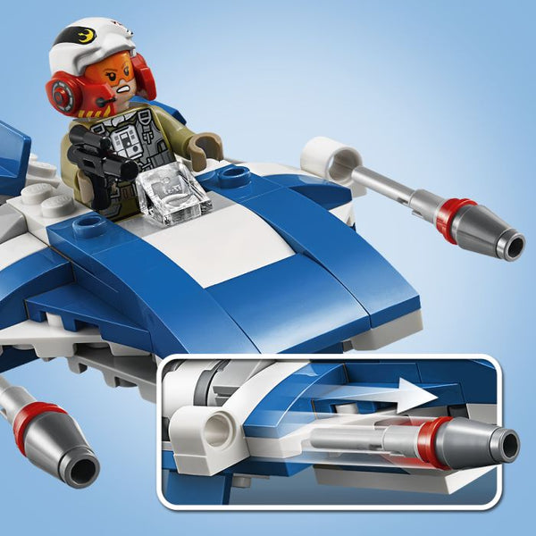 Lego Star Wars A-Wing™ vs. TIE Silencer™ Microfighters (75196)