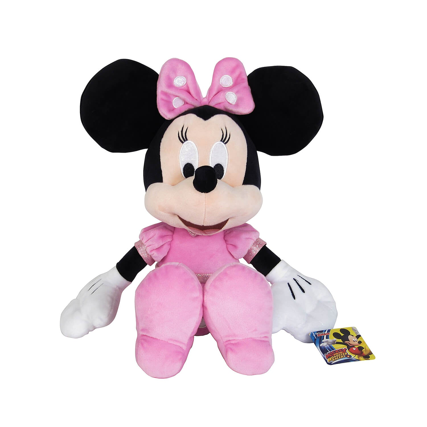 Mickey and the Roadster Racers Χνουδωτό Minnie 35 εκ. (1607-01693)
