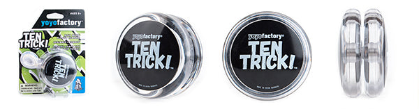 YoYo Factory YOYO TEN TRICK clear/black (YO-252)