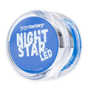 YoYo Factory YOYO NIGHTSTAR LED clear/blue (YO-245)
