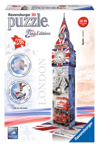 3D Big Ben Flag Edition (12582)