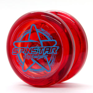 YoYo Factory YOYO SPINSTAR red (YO-444)
