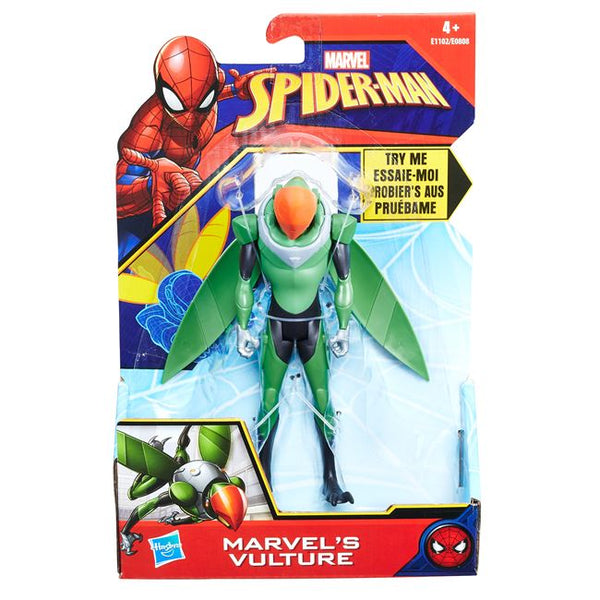Spiderman 6in Quick Shot Figures (E0808)