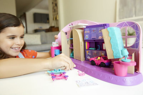 Polly Pocket Polly Mini-Το Δωμάτιο Της Polly (FRY98)