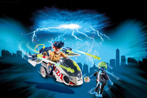 Playmobil Ghostbusters Δρ.Στάντζ Με Skybike (9388)